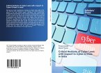 Critical Analysis of Cyber Laws with respect to Cyber-Crimes in India