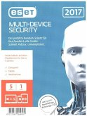 ESET Multi-Device Security 2017 Edition 5 User (FFP), 1 CD-ROM