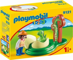 PLAYMOBIL® 1.2.3 9121 Dino-Baby im Ei
