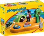 PLAYMOBIL® 1.2.3 9119 Pirateninsel