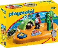 PLAYMOBIL® 1.2.3 9119 Pirateninsel