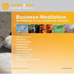 Business-Meditationen (Digipak-Version), Audio-CD - Bernardi, Lara