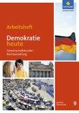 Demokratie heute 9. Arbeitsheft. Sachsen