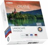 Cokin H300-06 Landscape Kit inkl. 3 Filter (48 - 82 mm Durchmesser, Filter-Set)