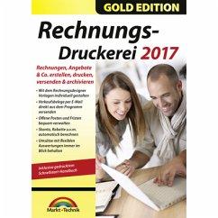 Markt+Technik Rechnungsdruckerei 2017 Gold Edition (Download für Windows)