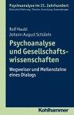 Psychoanalyse und Gesellschaftswissenschaften (eBook, PDF)