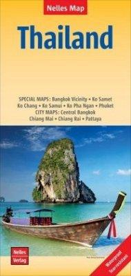 Nelles Map Landkarte Thailand