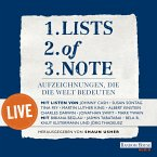 Lists of note – live (MP3-Download)