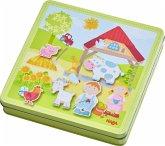 HABA 301951 - Magnetspiel-Box, Peters und Paulines Bauernhof