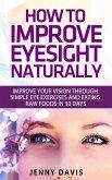 How to Improve Your Eyesight Naturally (eBook, ePUB)