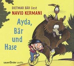 Ayda, Bär und Hase, 3 Audio-CDs - Kermani, Navid