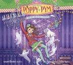 Poppy Pym und der Spuk in der Schulaula / Poppy Pym Bd.2 (4 Audio-CDs)