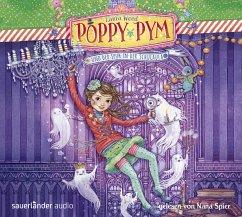 Poppy Pym und der Spuk in der Schulaula / Poppy Pym Bd.2 (4 Audio-CDs) - Wood, Laura