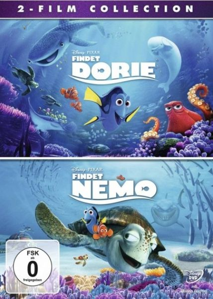 Findet Dorie / Findet Nemo - 2-Film Collection (2 Discs)