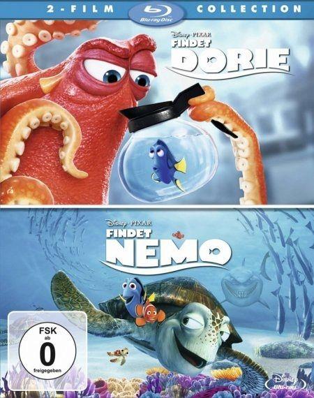 findet dorie findet nemo 2 film collection 2 discs film auf blu ray disc. Black Bedroom Furniture Sets. Home Design Ideas