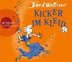 Kicker im Kleid, 3 Audio-CDs - Walliams, David