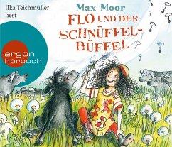Flo und der Schnüffel-Büffel, 3 Audio-CDs - Moor, Dieter