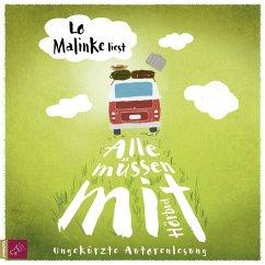 Alle müssen mit, 6 Audio-CDs - Malinke, Lo