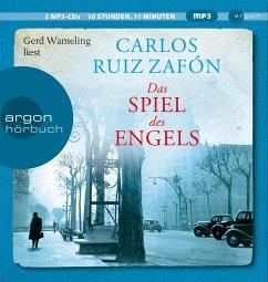 Das Spiel des Engels / Barcelona Bd.2 (2 MP3-CDs) - Ruiz Zafón, Carlos