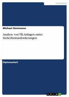 Analyse von TK-Anlagen unter Sicherheitsanforderungen (eBook, PDF)