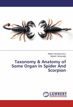 Taxonomy & Anatomy of Some Organ In Spider And Scorpion