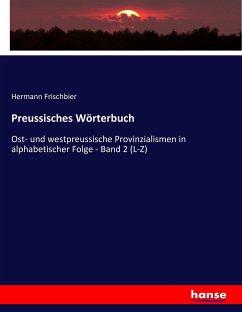 Preussisches Wörterbuch