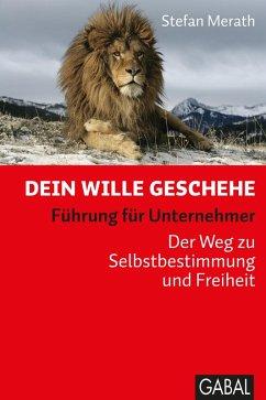 Dein Wille geschehe (eBook, ePUB) - Merath, Stefan
