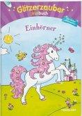 Glitzerzauber Malbuch Einhörner