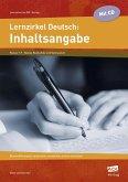 Lernzirkel Deutsch: Inhaltsangabe