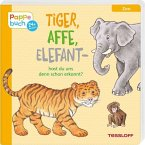 Tiger, Affe, Elefant - hast du uns denn schon erkannt?