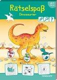 Rätselspaß Dinosaurier ab 6 Jahren