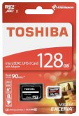Toshiba microSDXC Class 10 128GB Exceria M302 UHS I + Adapter