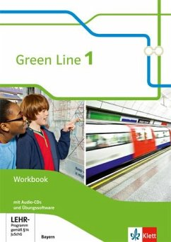 Green Line 1. Workbook mit 2 Audio-CDs und Übungssoftware. Neue Ausgabe. Bayern