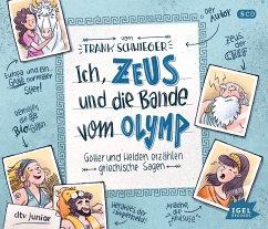 Ich, Zeus, und die Bande vom Olymp, 5 Audio-CDs - Schwieger, Frank