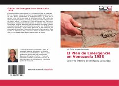 El Plan de Emergencia en Venezuela 1958