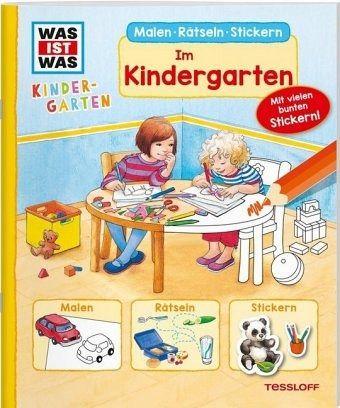 Im kindergarten was ist was kindergarten buch - Malen im kindergarten ...
