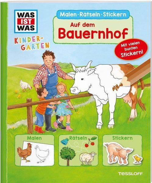 Auf Dem Bauernhof Was Ist Was Kindergarten