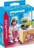 PLAYMOBIL® 9097 Konditorin mit Kuchentheke