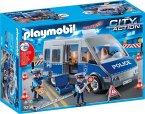 PLAYMOBIL® 9236 Polizeibus mit Straßensperre