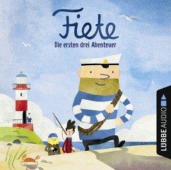 Fiete - Die ersten drei Abenteuer, Audio-CD - Ahoiii Entertainment UG