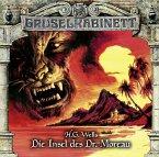 Die Insel des Dr. Moreau / Gruselkabinett Bd.122 (Audio-CD)