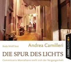 Die Spur des Lichts / Commissario Montalbano Bd.19 (4 Audio-CDs) - Camilleri, Andrea