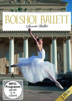 Bolshoi-Ballet Three Favorites Ballets