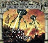 Der Krieg der Welten / Gruselkabinett Bd.124&125 (2Audio-CDs)
