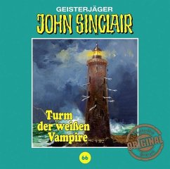 Turm der weißen Vampire / John Sinclair Tonstudio Braun Bd.66 (Audio-CD)