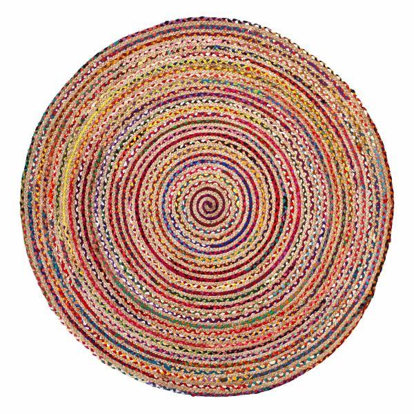 miavilla teppich evira multicolor 100 cm. Black Bedroom Furniture Sets. Home Design Ideas