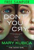 Don't You Cry (eBook, ePUB)