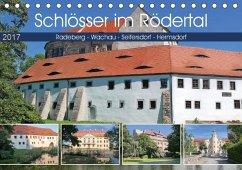 9783665560119 - Dudziak, Gerold: Schlösser im Rödertal (Tischkalender 2017 DIN A5 quer) - Buch