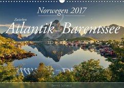 9783665560713 - Schiedl, Bernd: Norwegen - Zwischen Atlantik und Barentsee (Wandkalender 2017 DIN A3 quer) - Buch