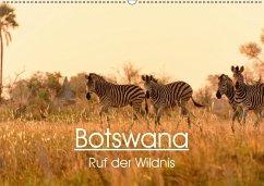 9783665560140 - Stelzel, Maria-Lisa: Botswana - Ruf der Wildnis (Wandkalender 2017 DIN A2 quer) - کتاب